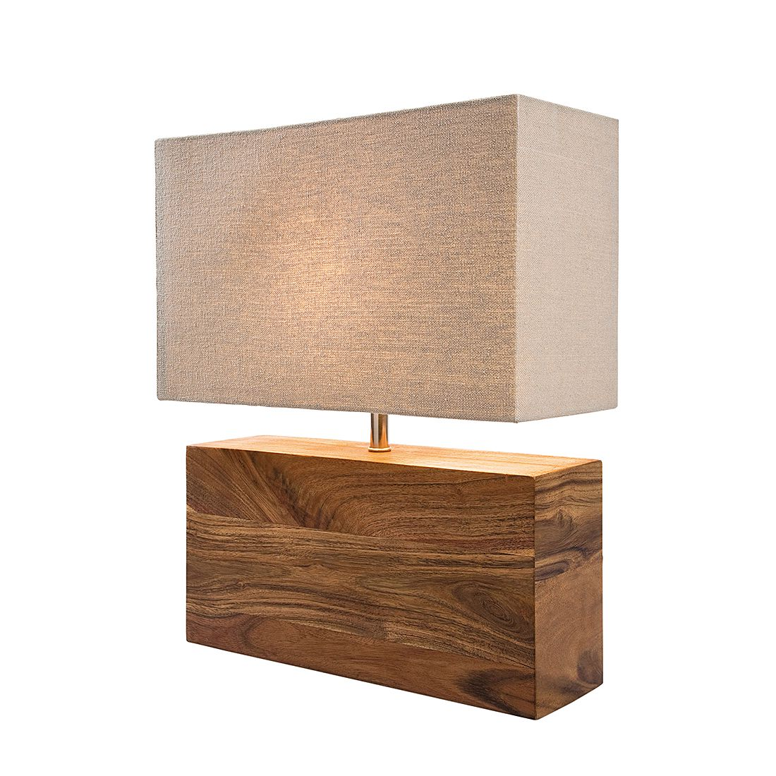 Lampe de table Rectangular Wood Nature