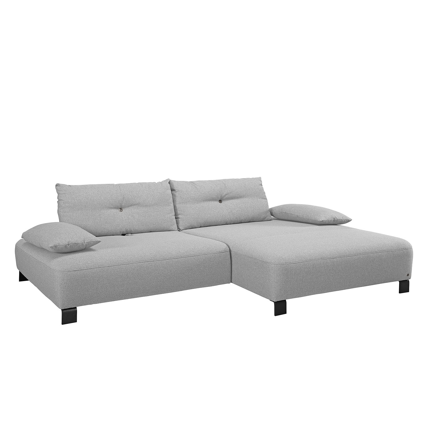 Ecksofa Cushion Shift Webstoff