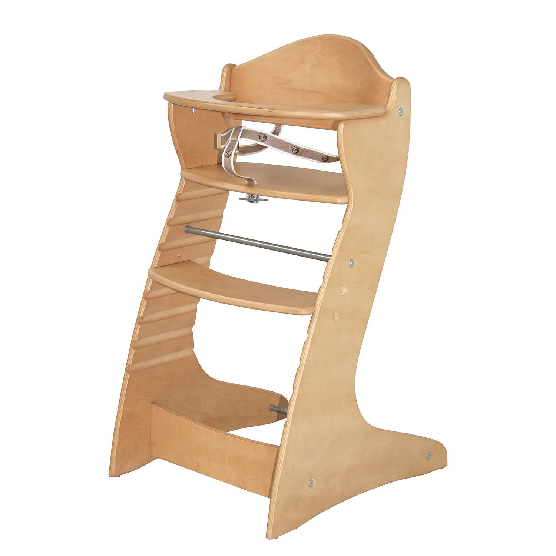 Treppenhochstuhl Chair up - Holz Natur, Roba