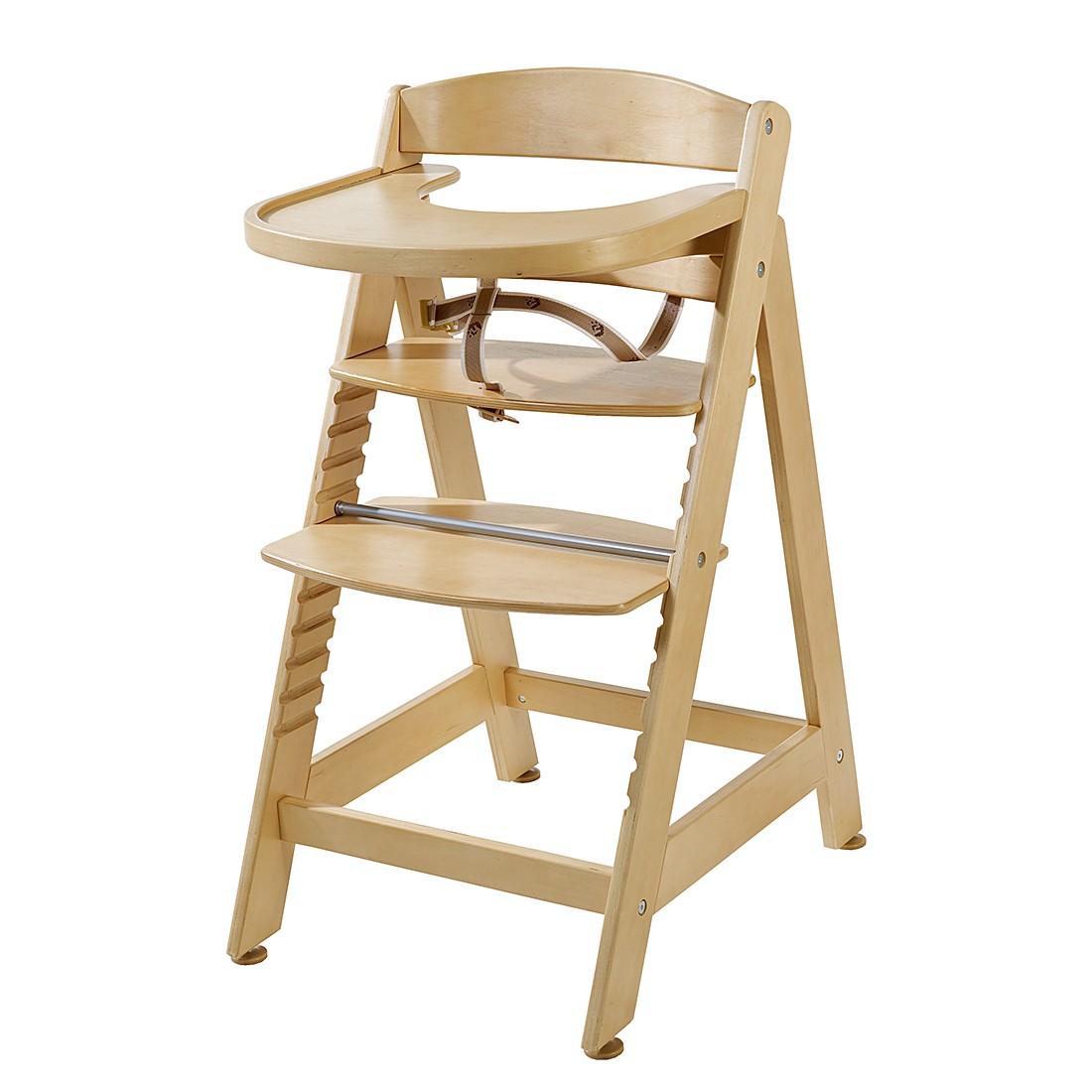 home24 Treppenhochstuhl Sit up Maxi | Baumarkt > Leitern und Treppen | Beige | Holzwerkstoff | Roba