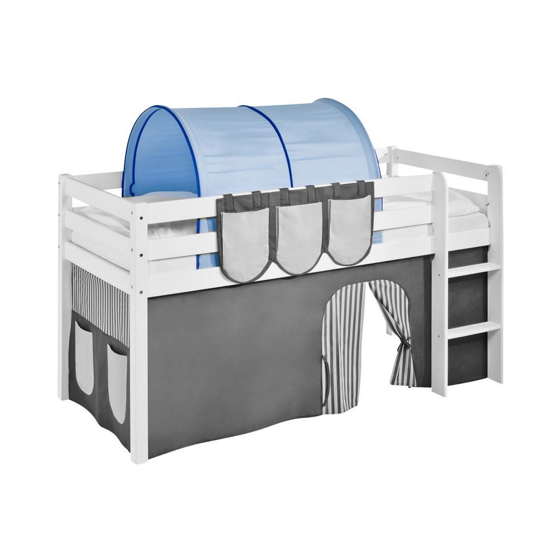 Tunnel Blau - für Hochbett Spielbett und Etagenbett, Lilokids