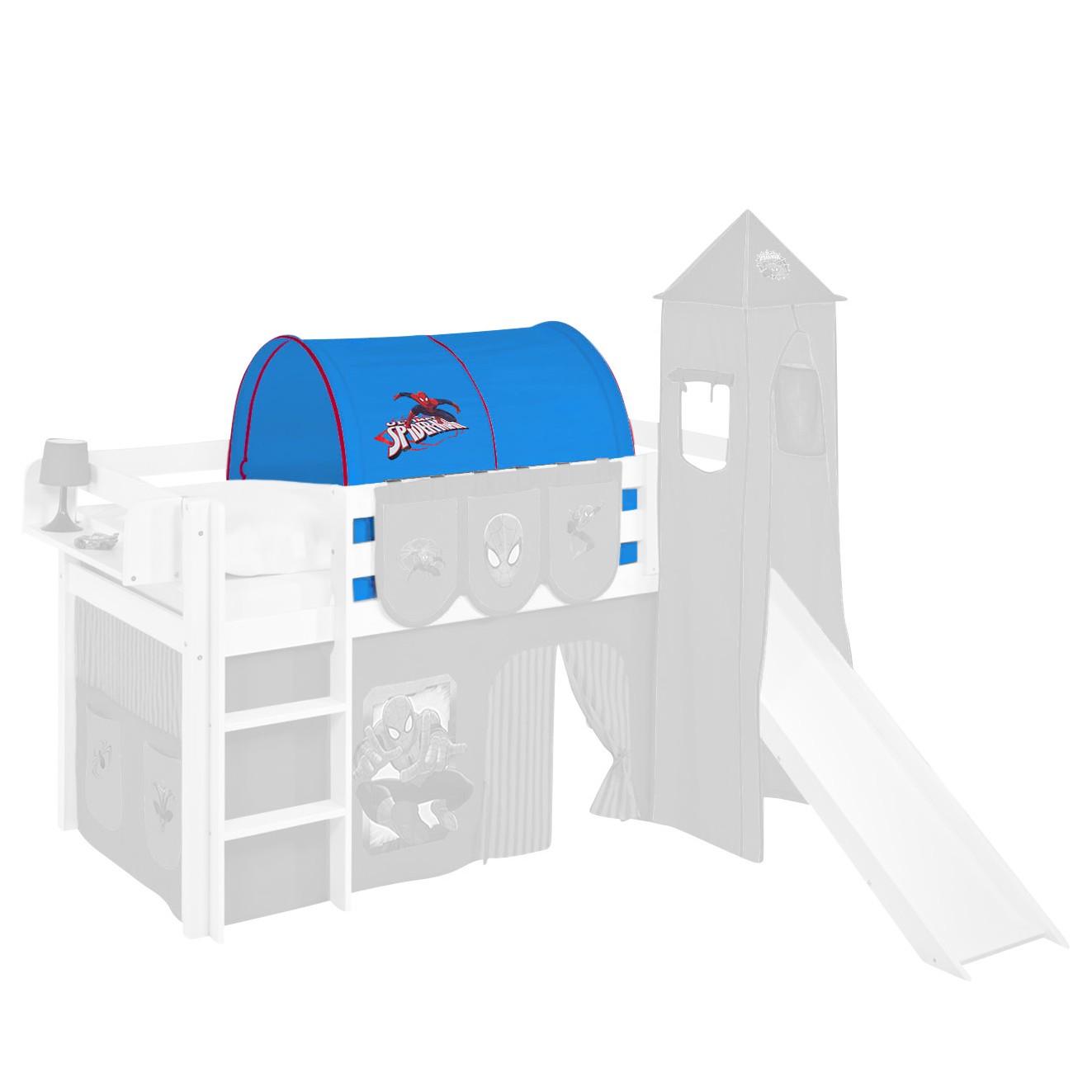 home24 Tunnel Spiderman | Kinderzimmer > Kinderbetten > Baldachine & Tunnels | Rot | Textil | Lilokids