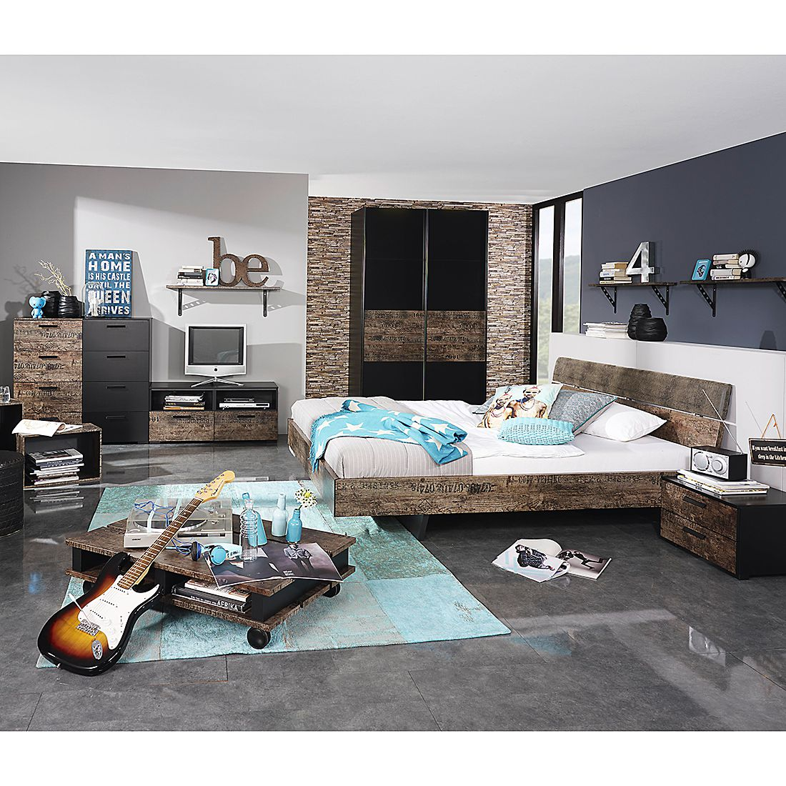 Tv Kommode Schlafzimmer. Schlafzimmer Komplett Weiß Lila