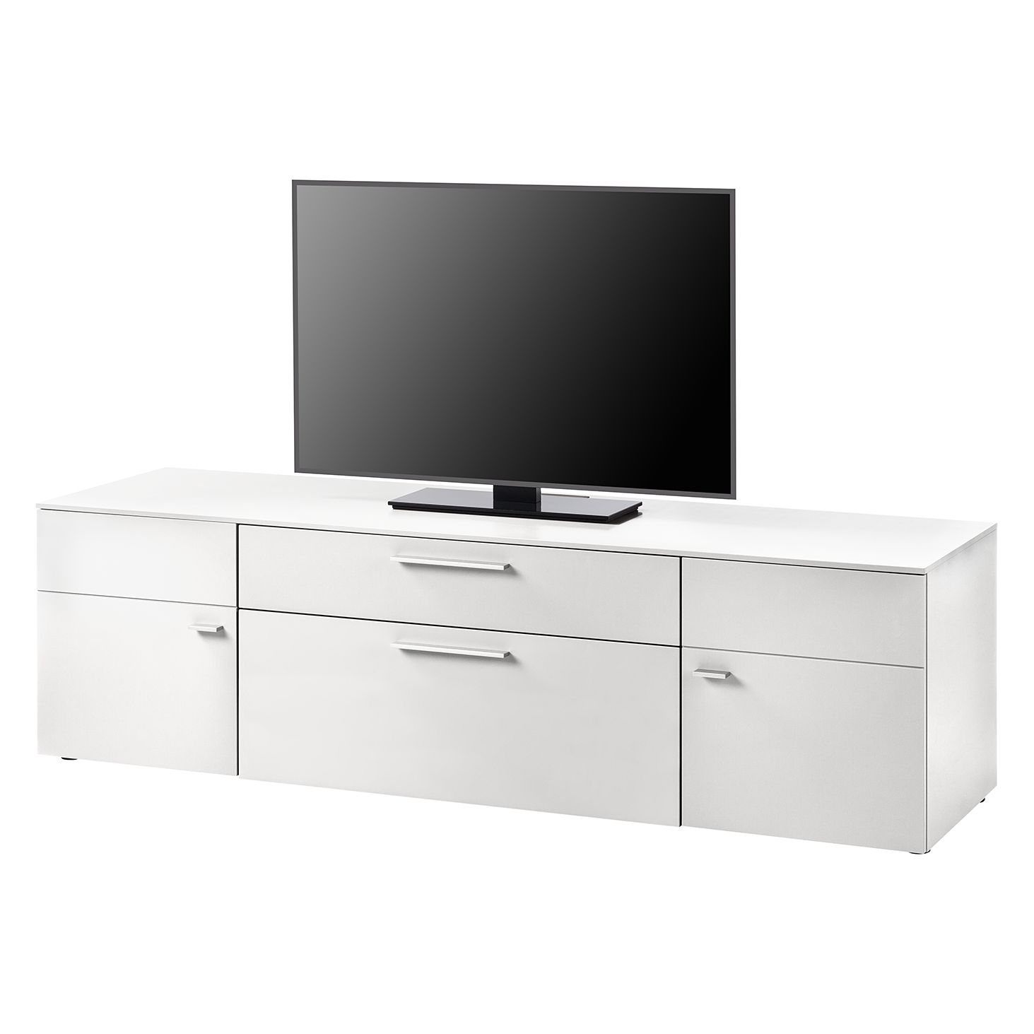 Meuble TV Anzio I - Blanc mat, Netfurn by GWINNER