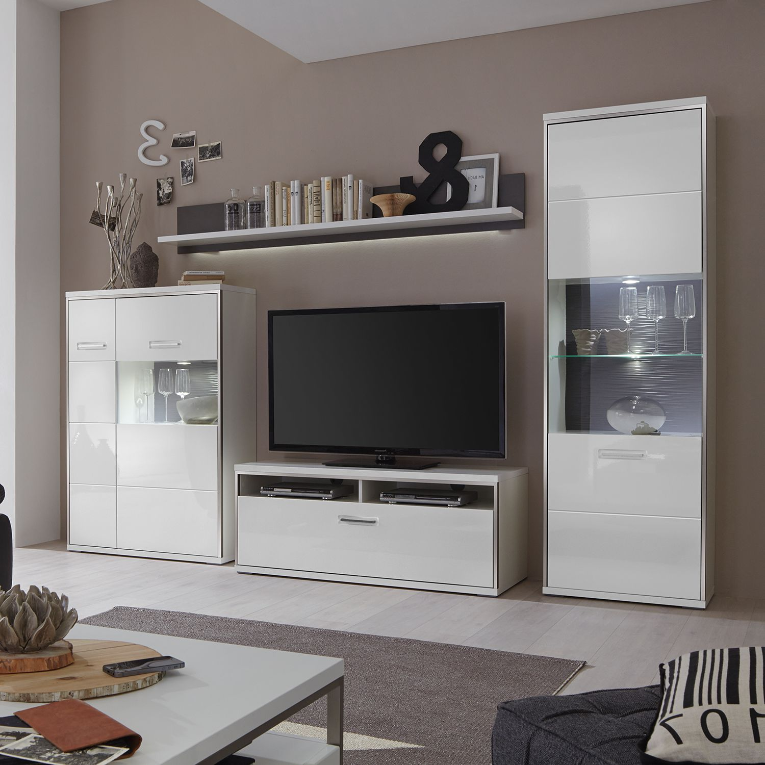 home24 TV-Lowboard Arco