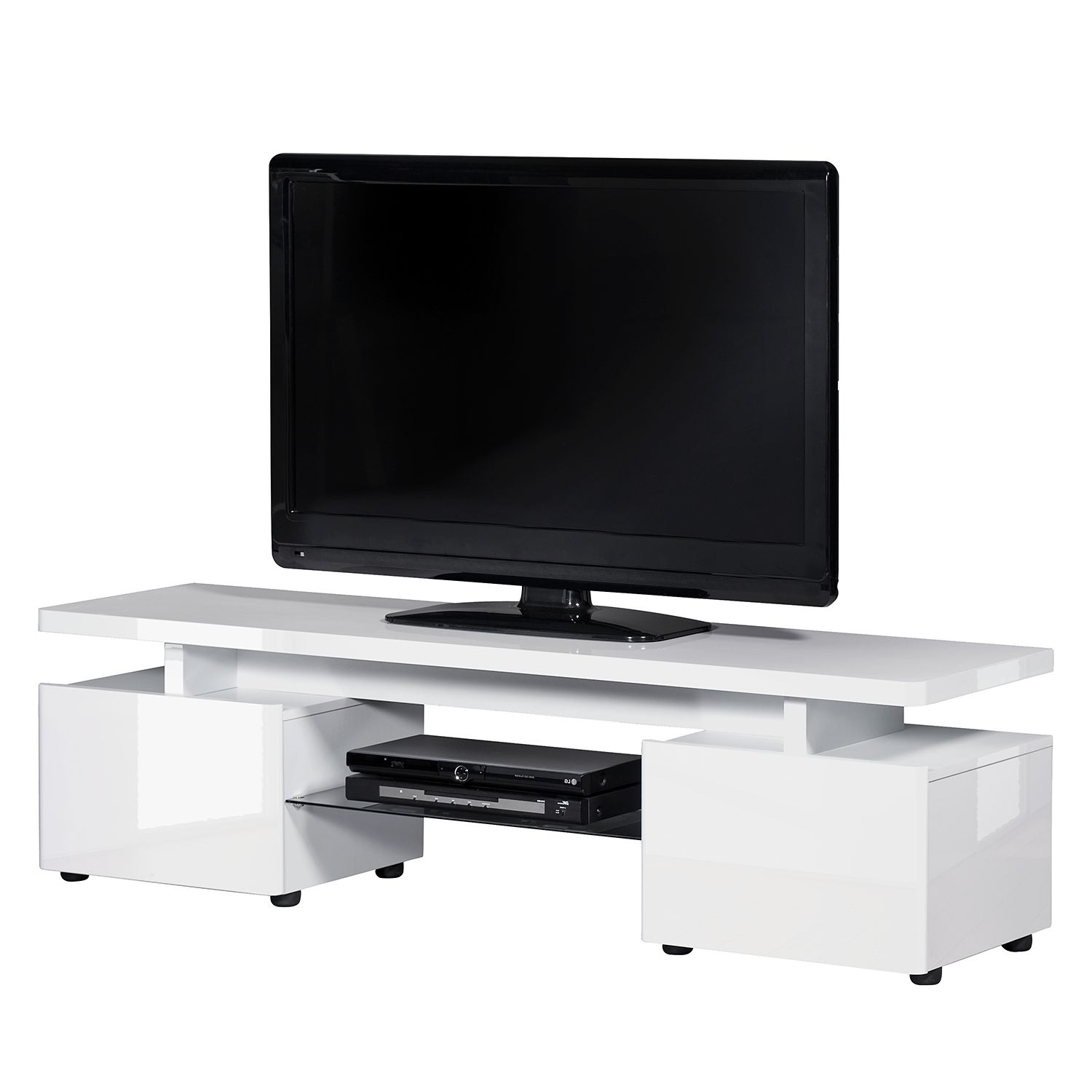 tv lowboard wei led preisvergleich die besten angebote. Black Bedroom Furniture Sets. Home Design Ideas