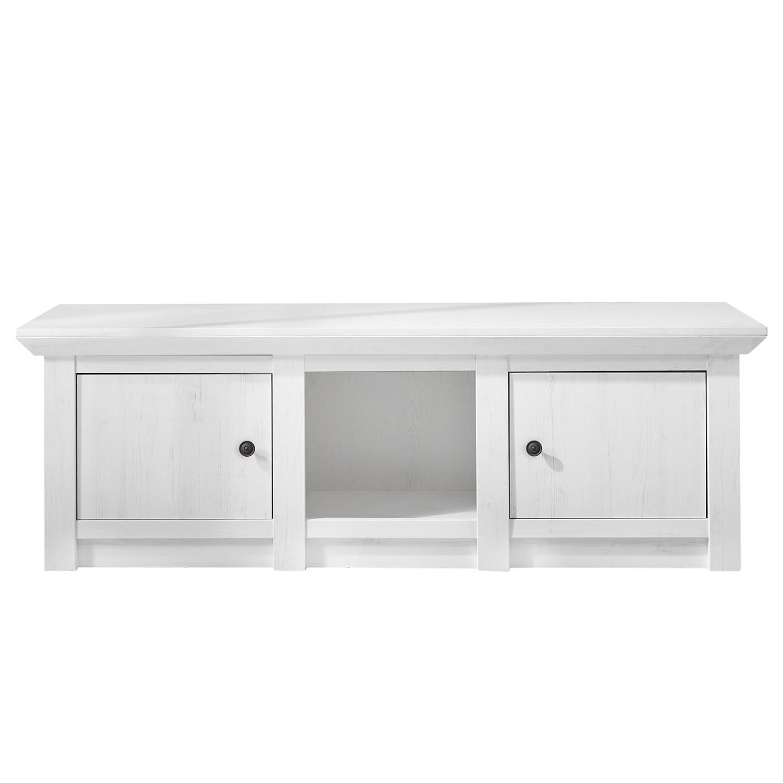 Meuble TV Geestland - Imitation pin blanc, Maison Belfort
