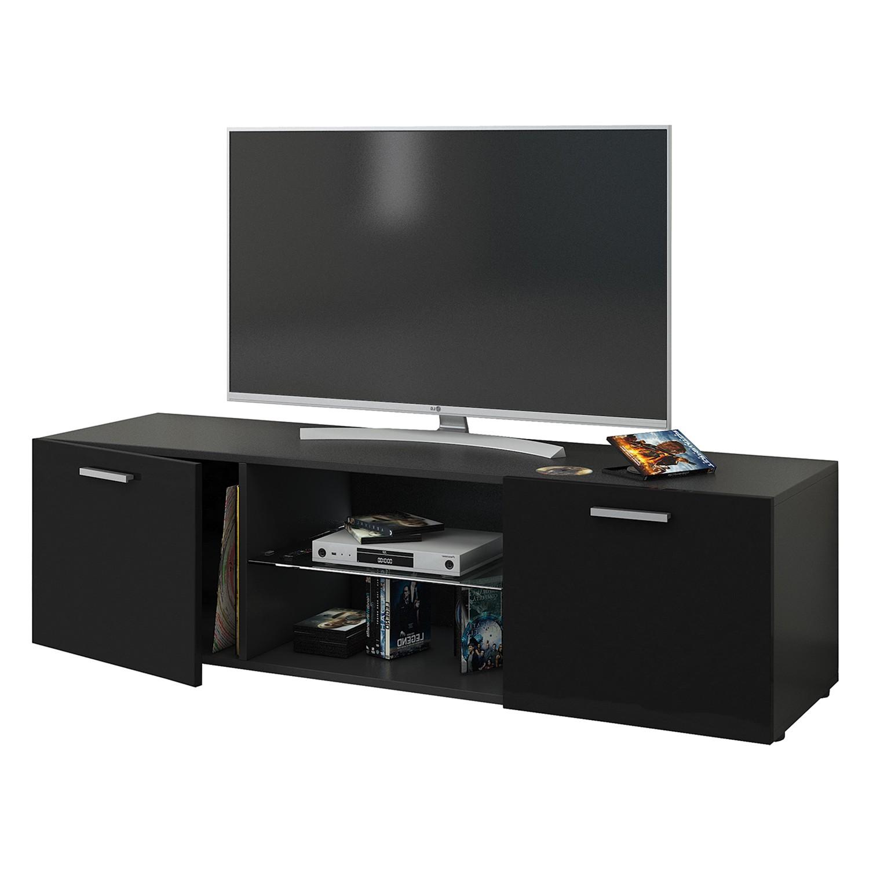lowboard schwarz hochglanz 160 preisvergleich die besten. Black Bedroom Furniture Sets. Home Design Ideas
