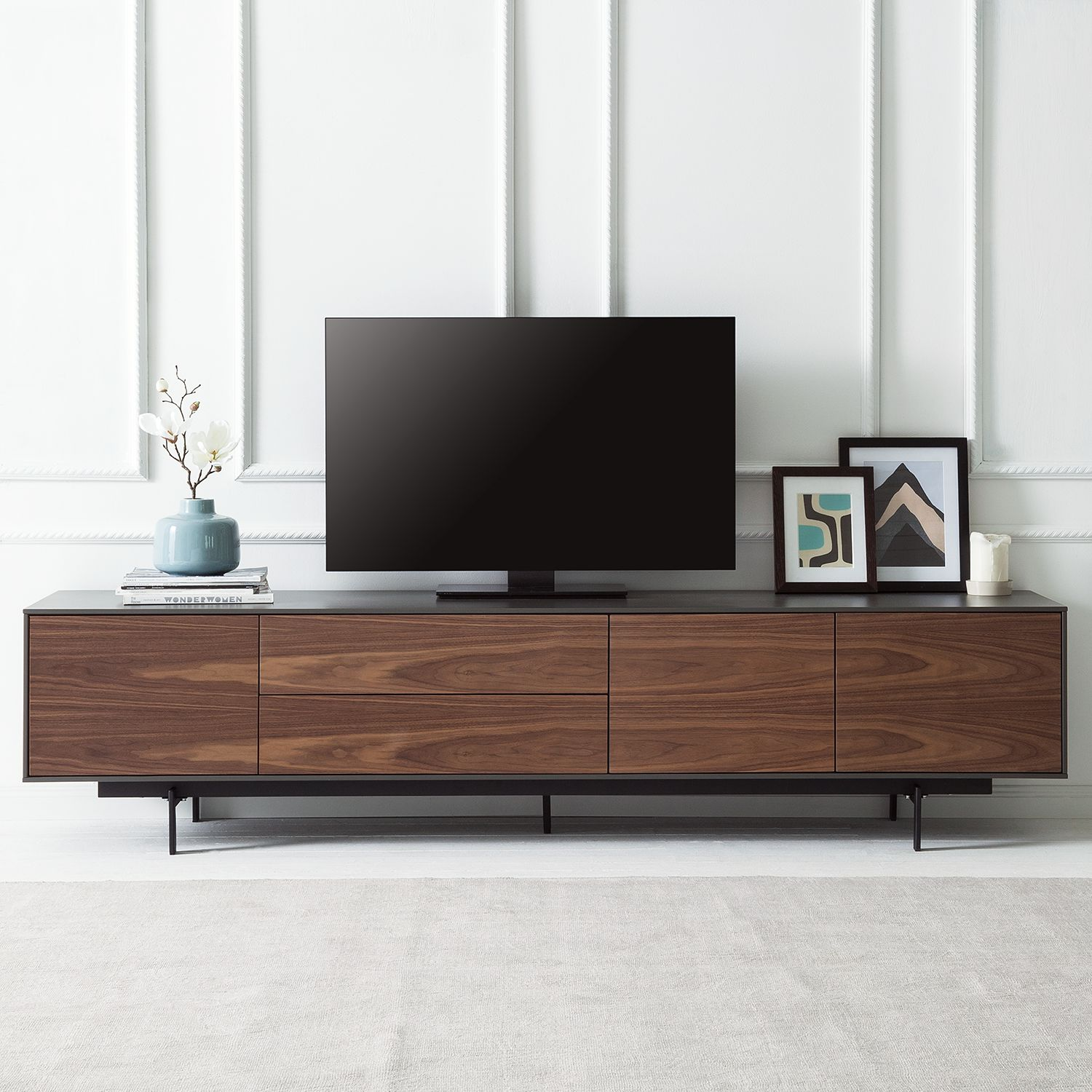 29 sparen tv lowboard payara von studio copenhagen nur 499 99 cherry m bel home24. Black Bedroom Furniture Sets. Home Design Ideas