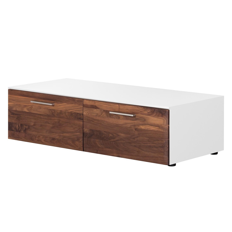 lowboard weiss nussbaum preisvergleich die besten angebote online kaufen. Black Bedroom Furniture Sets. Home Design Ideas