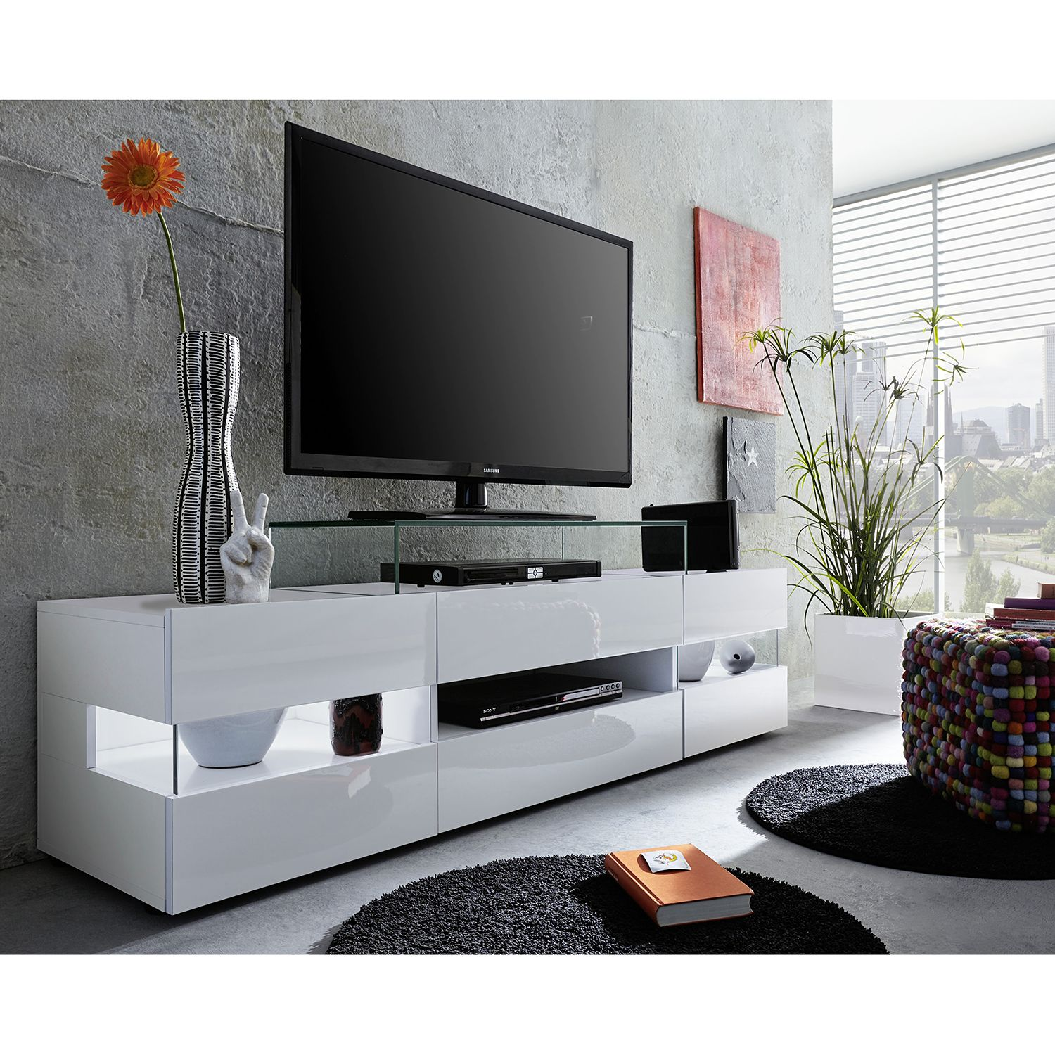 home24 TV-Lowboard Sonic