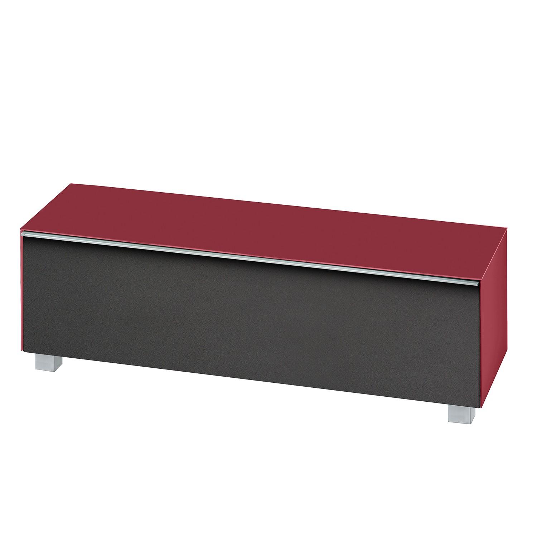 tv lowboard holz glas rot holz tv lowboards online kaufen mobel