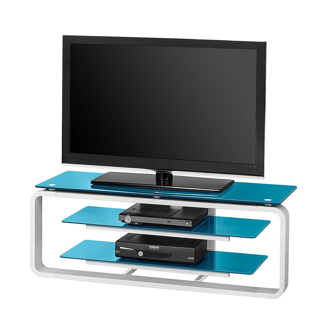 tv rack weiss preisvergleich die besten angebote online. Black Bedroom Furniture Sets. Home Design Ideas