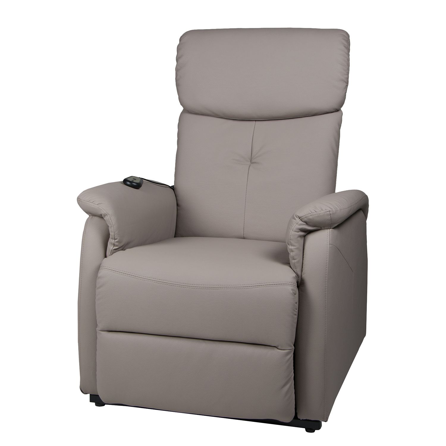goedkoop Tv fauteuil Pavlos kunstleer beige Duo Collection