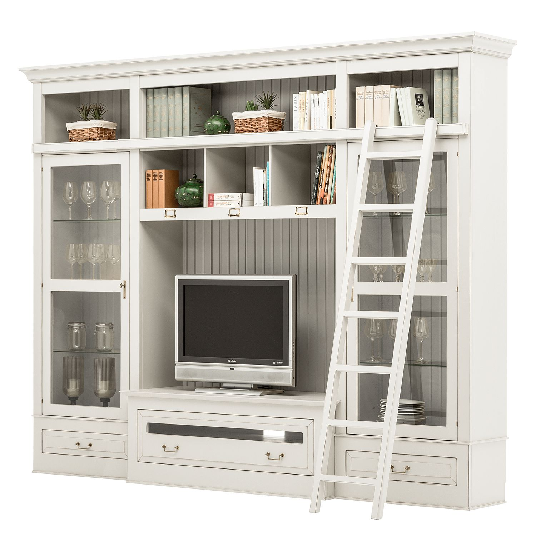 home24 TV-Wand Azjana II | Wohnzimmer > TV-HiFi-Möbel > TV-Wände | Maison Belfort