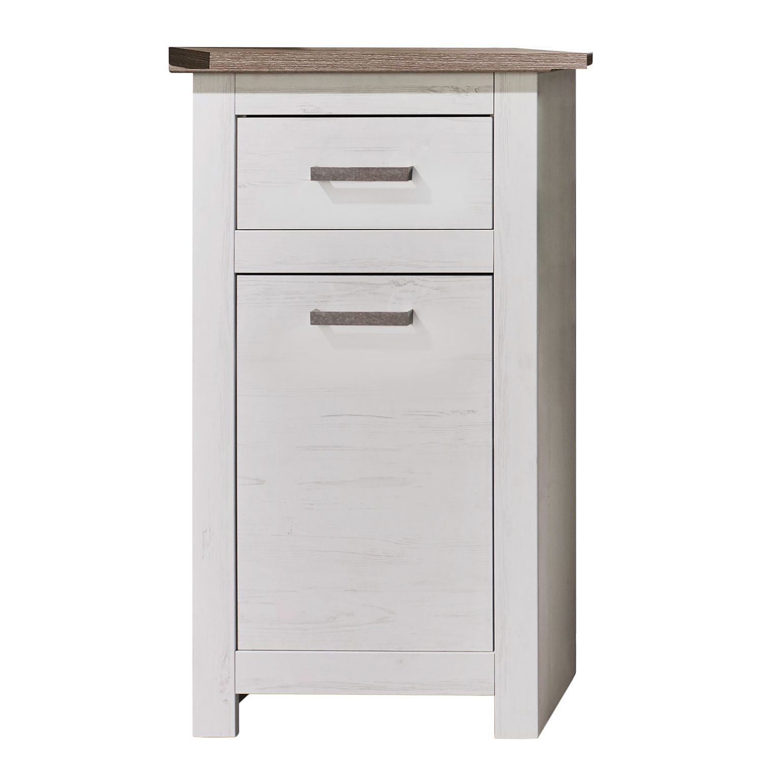 Armoire basse lotte imitation pin blanc imitation for Armoire basse chambre adulte