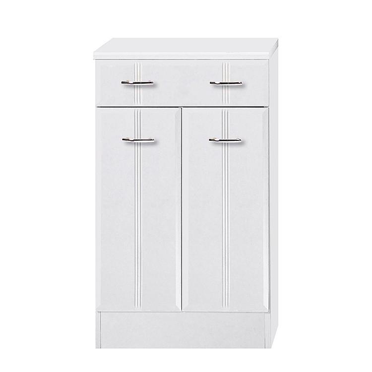 Armoire Lund - Blanc - 2 portes, Giessbach