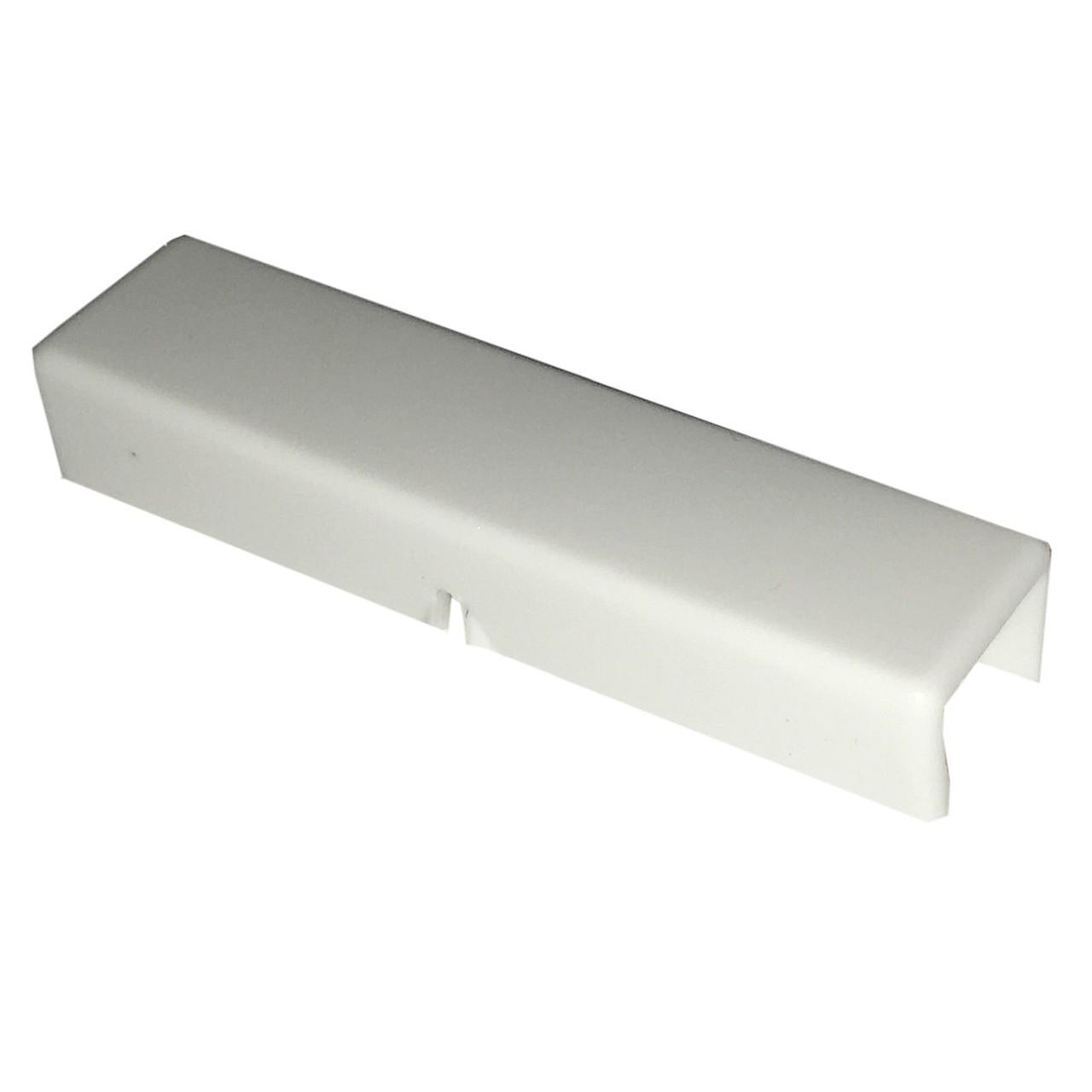 twentyfour Verbindungsstück für Gardinenschienen weiß 6x1x1.5 cm (BxHxT) Kunststoff, twentyfour