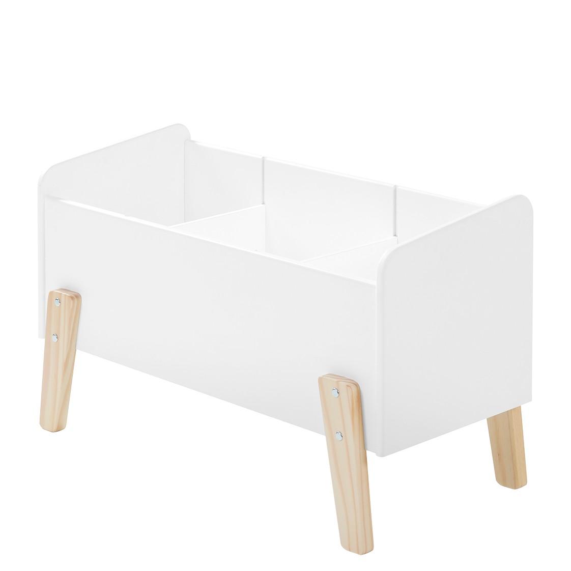home24 Spielzeugkiste Kiddy | Kinderzimmer > Spielzeuge > Spielzeugkisten | Weiss | Holzwerkstoff | Vipack