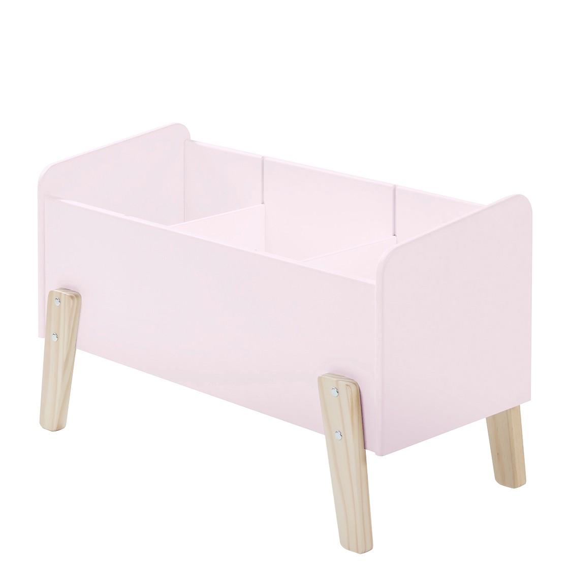 home24 Spielzeugkiste Kiddy | Kinderzimmer > Spielzeuge > Spielzeugkisten | Pink | Holzwerkstoff | Vipack