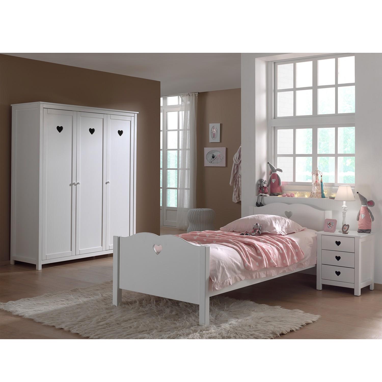 home24 Jugendzimmerkombi Amori II (3-teilig) | Kinderzimmer > Jugendzimmer | Vipack
