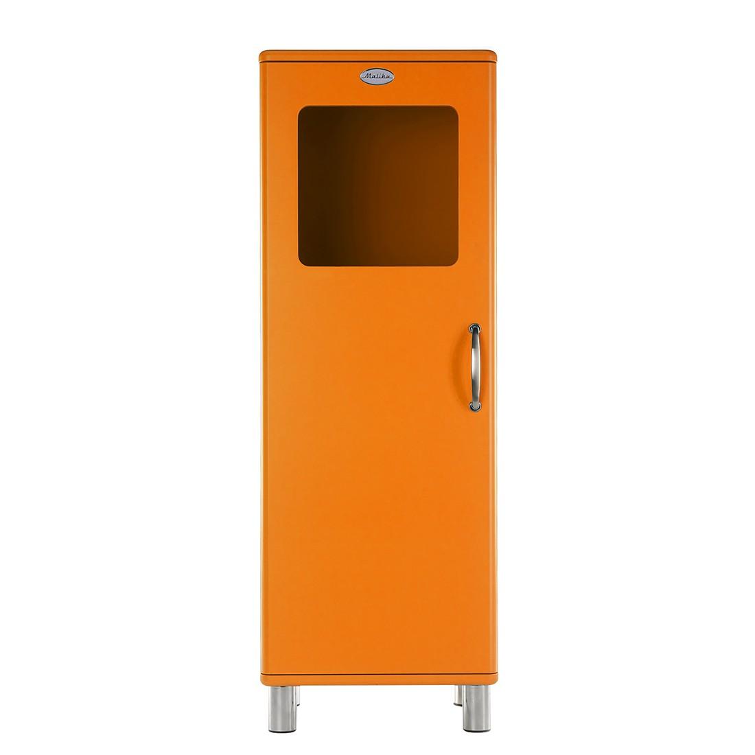home24 Vitrine Malibu I | Wohnzimmer > Vitrinen > Standvitrinen | Orange | Glas - Holzwerkstoff | Tenzo