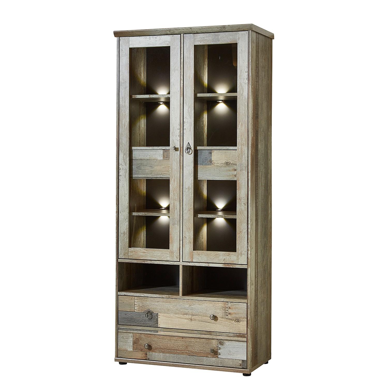 Armoire vitrine Tapara (avec éclairage)