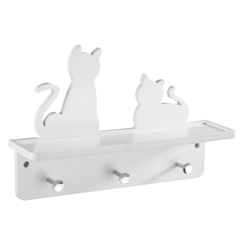 Wand-Garderobe Katzen
