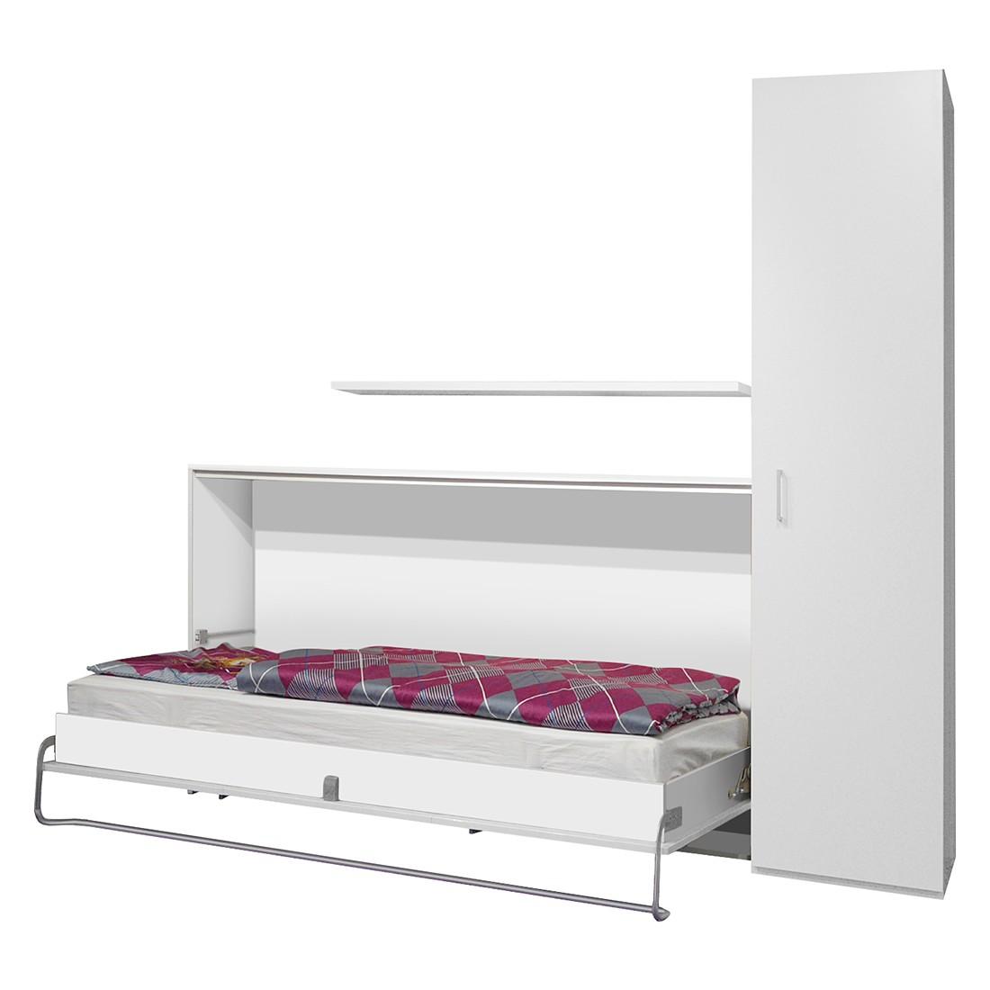 home24 Schrankbett-Kombination Godia II | Schlafzimmer > Betten > Schrankbetten