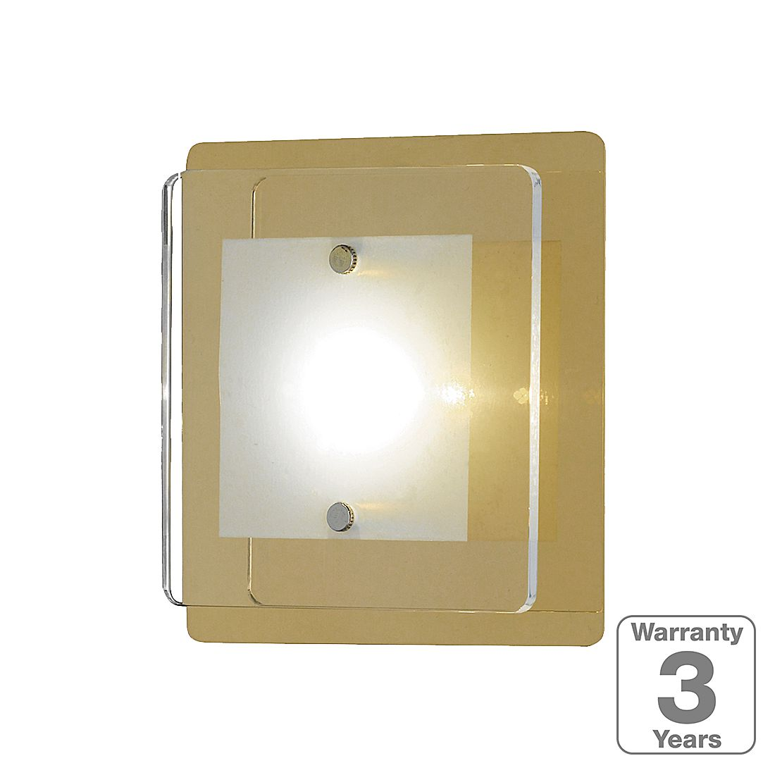 home24 LED-Wandleuchte Lene