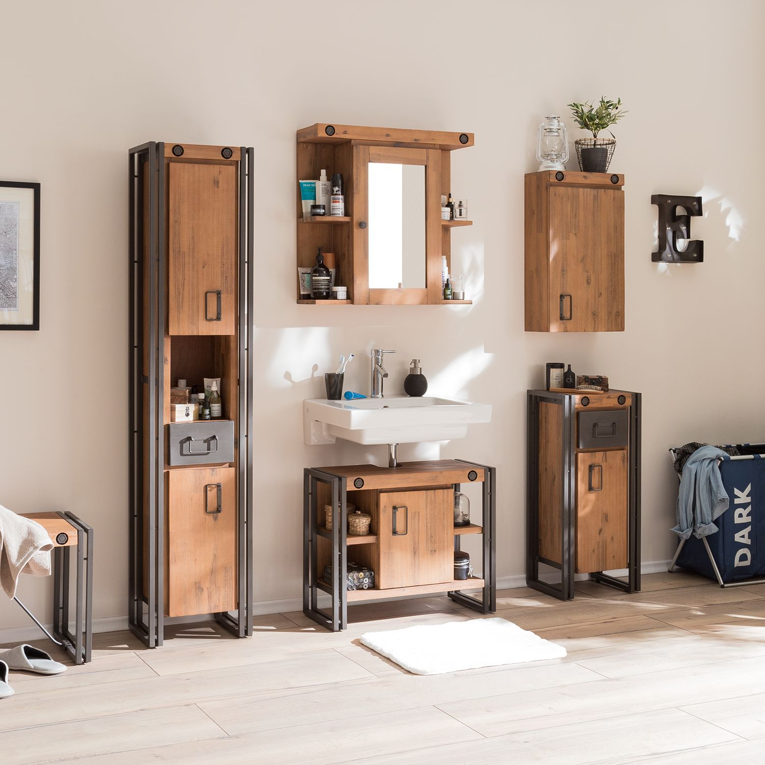 Armoire basse Manchester
