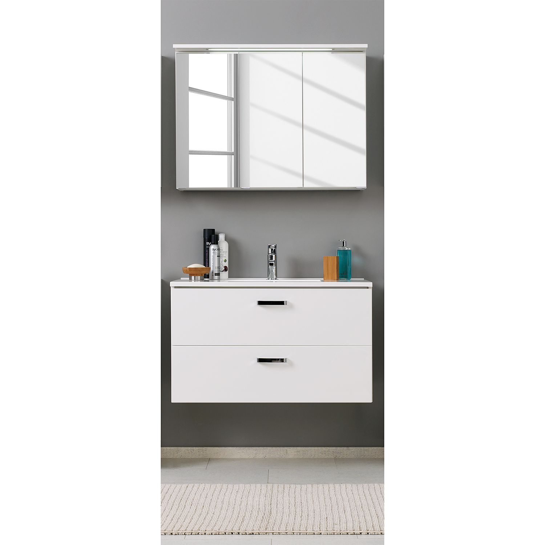waschtisch set 100 with waschtisch set 100 trendy badmbel set city v esche schwarz waschtisch. Black Bedroom Furniture Sets. Home Design Ideas