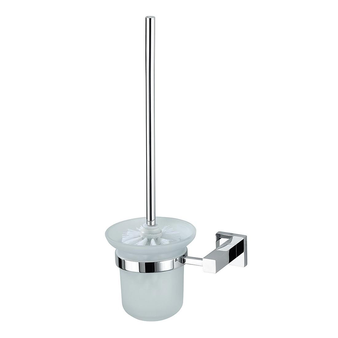 home24 WC-Garnitur San Remo | Bad > Bad-Accessoires > WC-Bürsten | Silber | Wenko