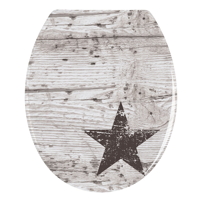 WC-Sitz Star   Bad > WCs > WC-Sitze   Grau   Kunststoff   WENKO