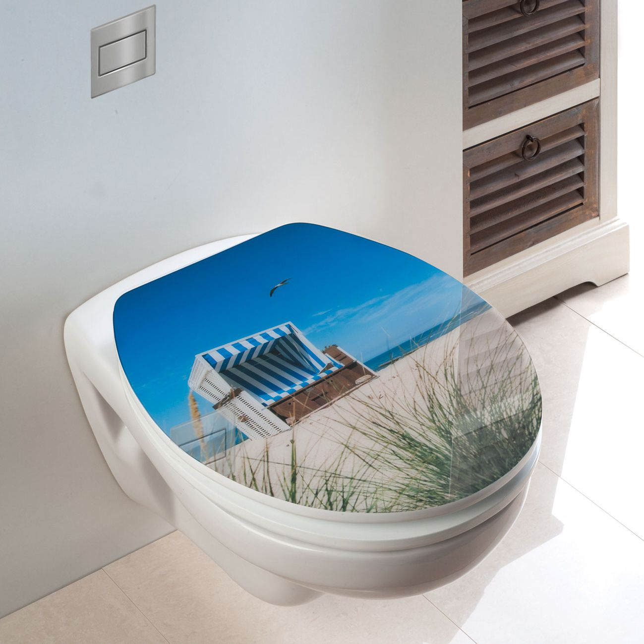 WC-Sitz Strandkorb, WENKO