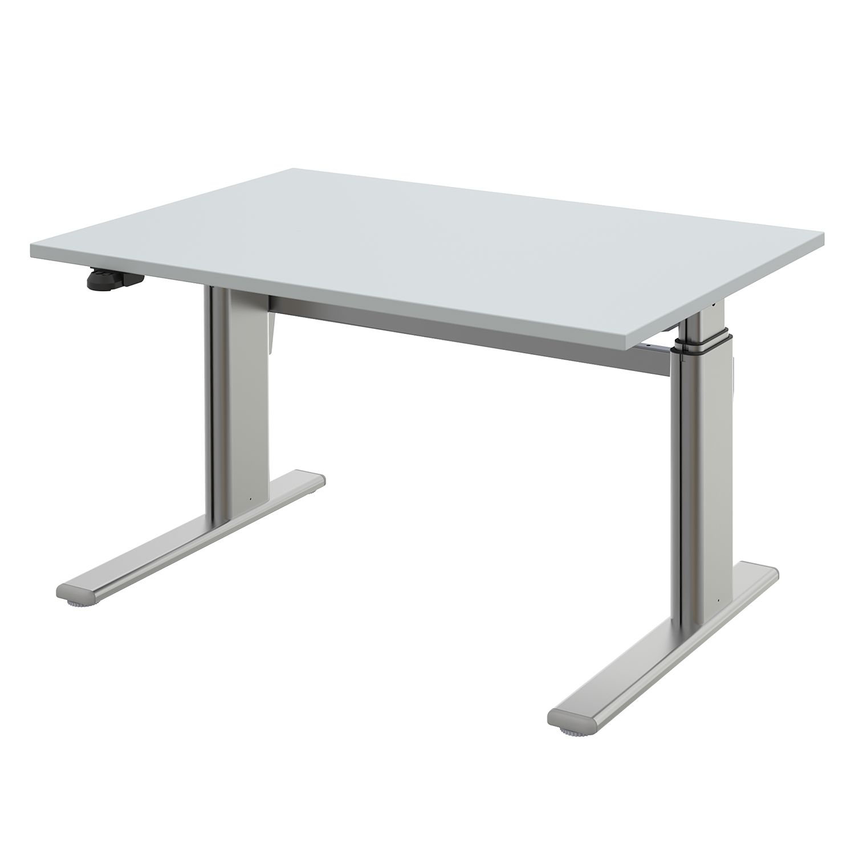 home24 Schreibtisch UpDown 2 III | Büro > Bürotische | Grau | Holzwerkstoff | Wellemoebel