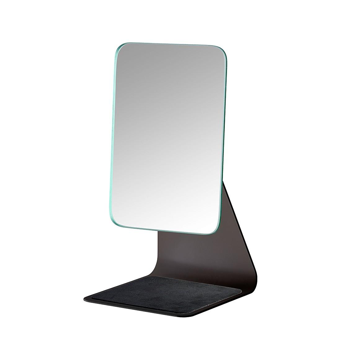 home24 Kosmetikspiegel Frisa | Bad > Bad-Accessoires > Kosmetikspiegel | Schwarz | Metall | WENKO