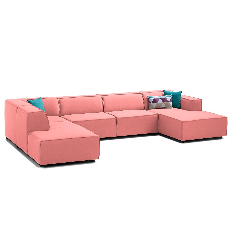 Canapé panoramique Kinx Tissu