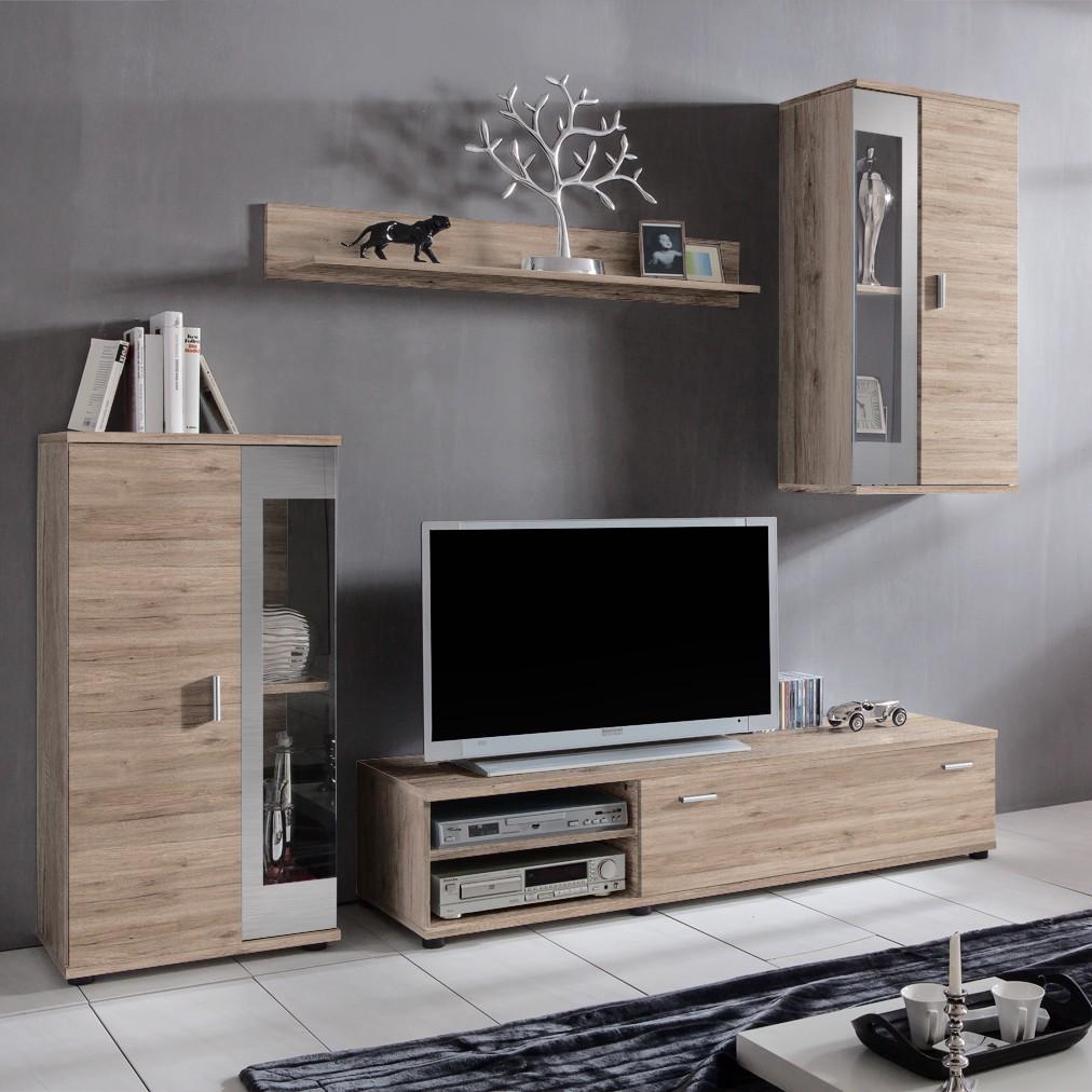 home24 Wohnwand Baceno (4-teilig)
