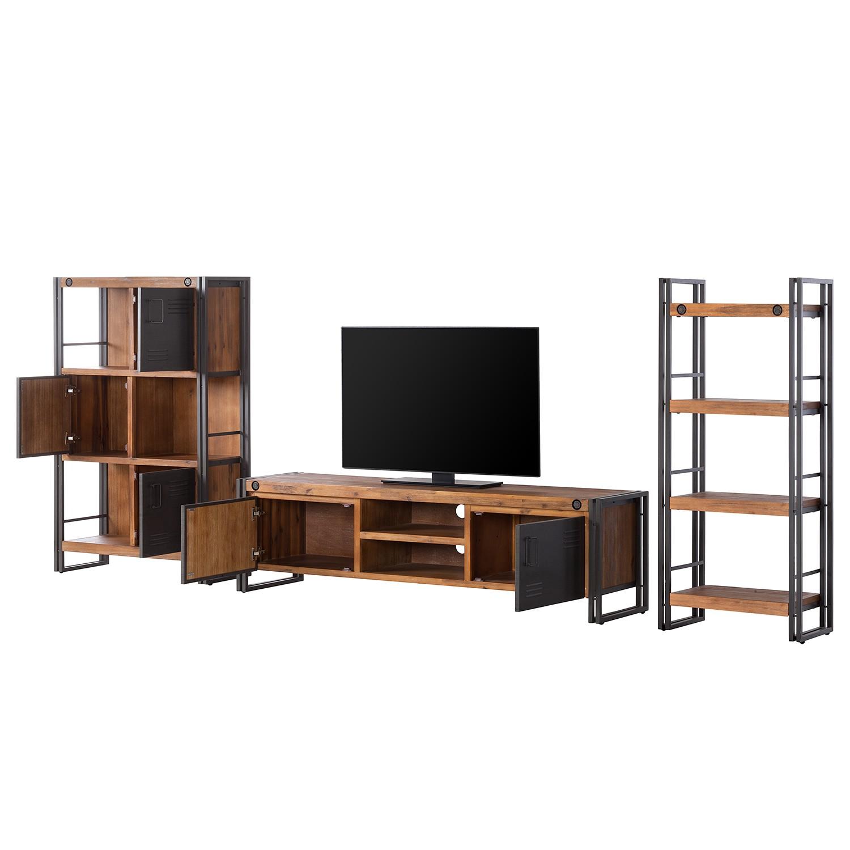 13 sparen wohnwand manchester i 3 teilig von ars manufacti nur cherry m bel. Black Bedroom Furniture Sets. Home Design Ideas