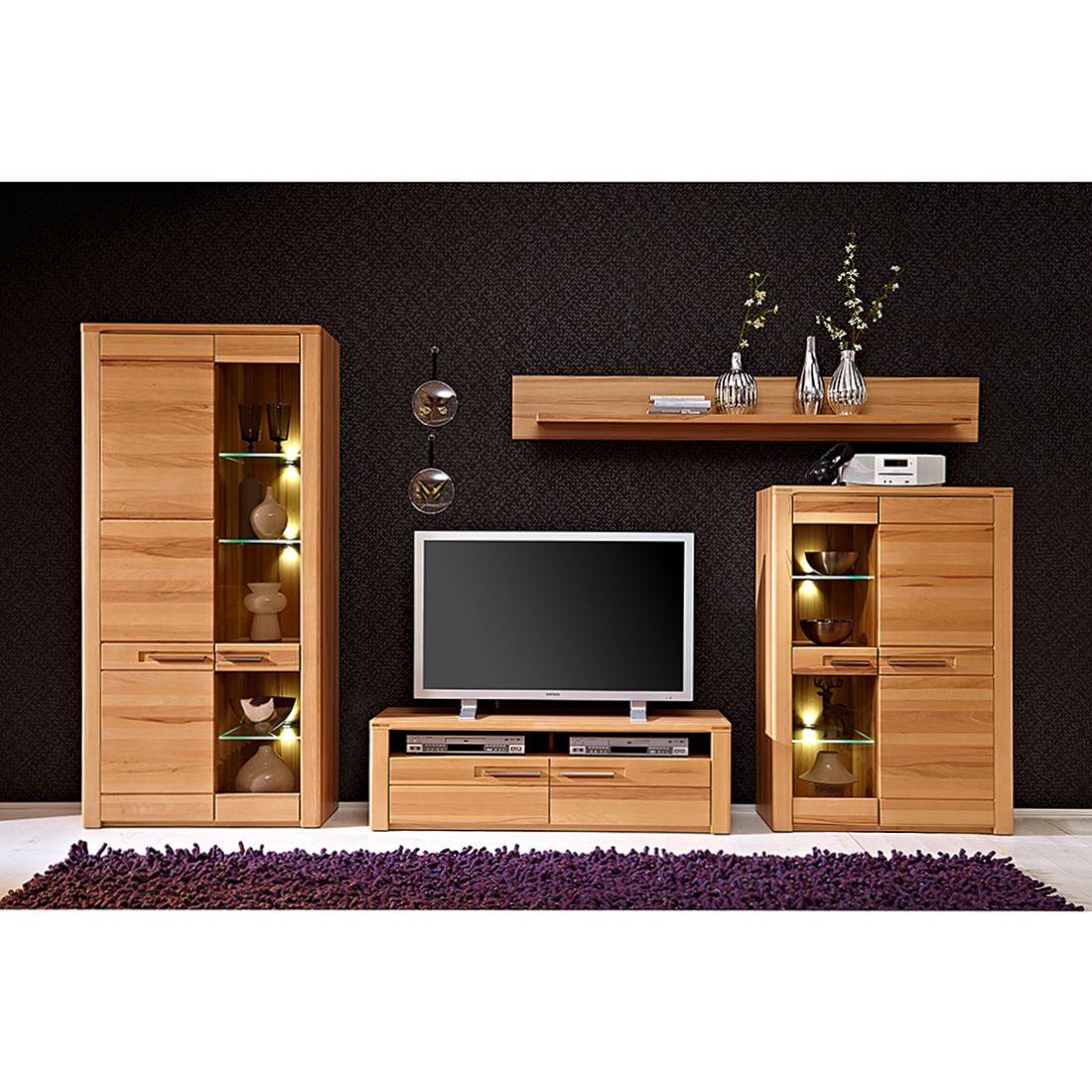 Great Wohnwnde Holz Massiv Modern With Wohnwnde Holz Massiv Modern