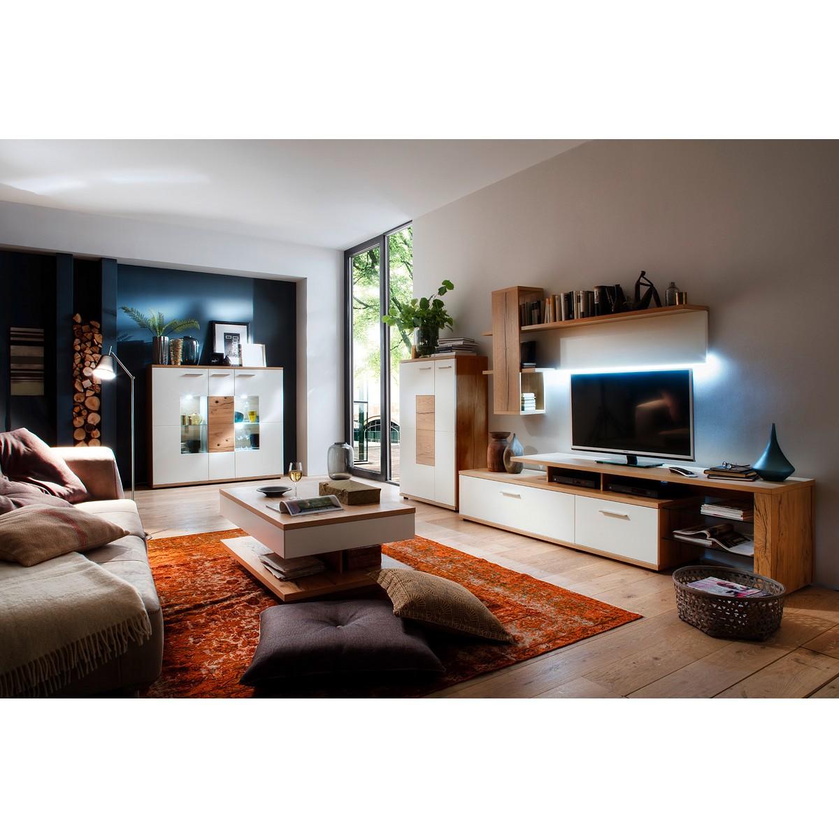Meuble TV Lowboard Serrata II