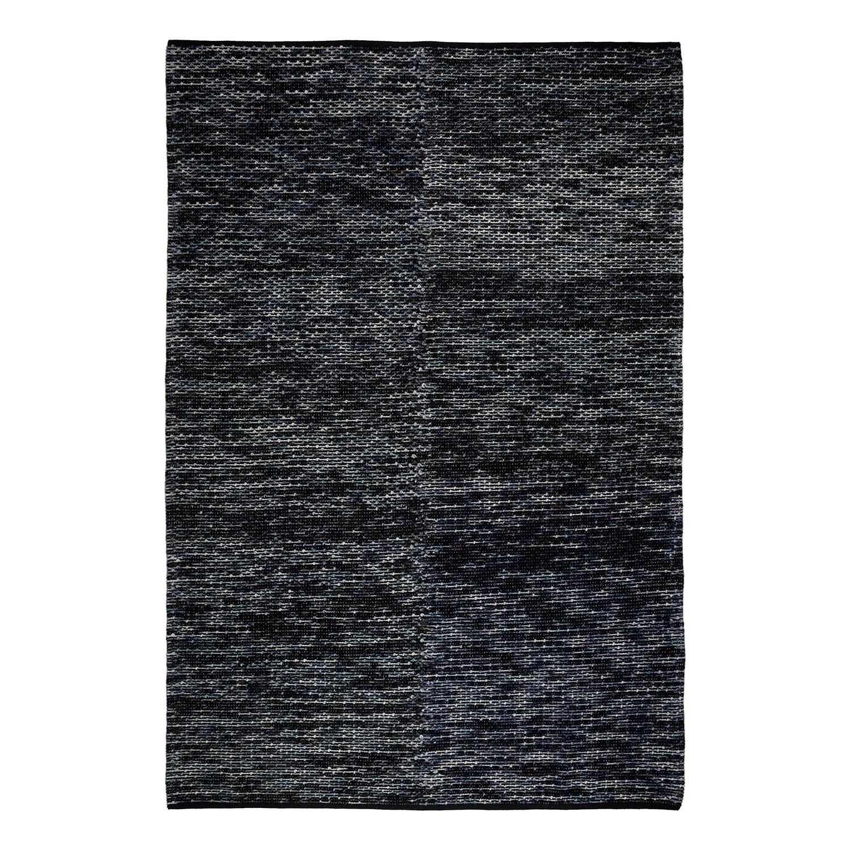 Wollteppich Egelev - Wolle - Schwarz / Grau - 200 x 290 cm, Studio Copenhagen