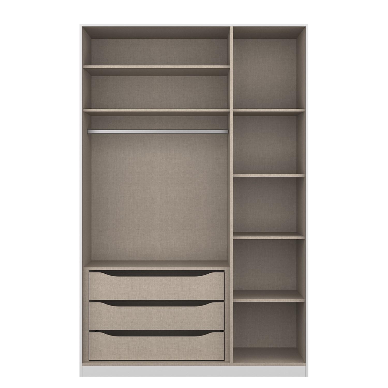 goedkoop Pakket onderdelen draaideurkast KiyDOO I 136cm 3 deurs Comfort KIYDOO