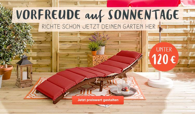 Gartenmöbel unter 120€ bei home24