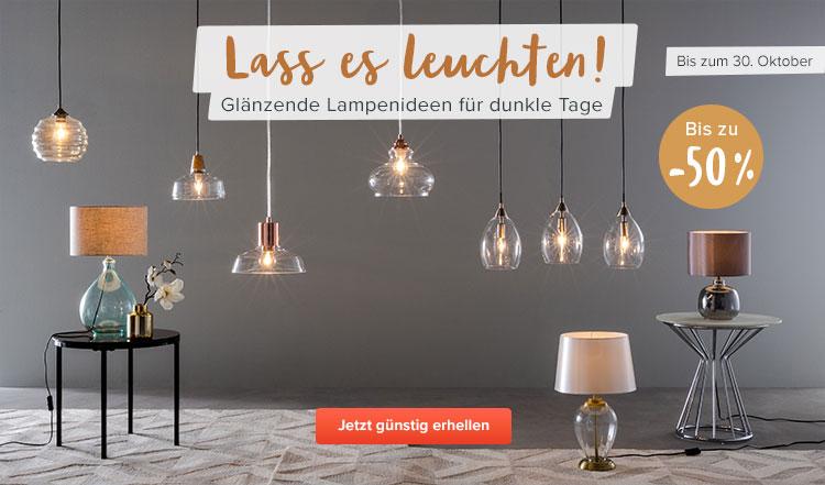Lampen Shop Leuchten Amp LED Bequem Online Kaufen Home24