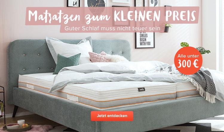 Matratzen unter 300 € bei home24