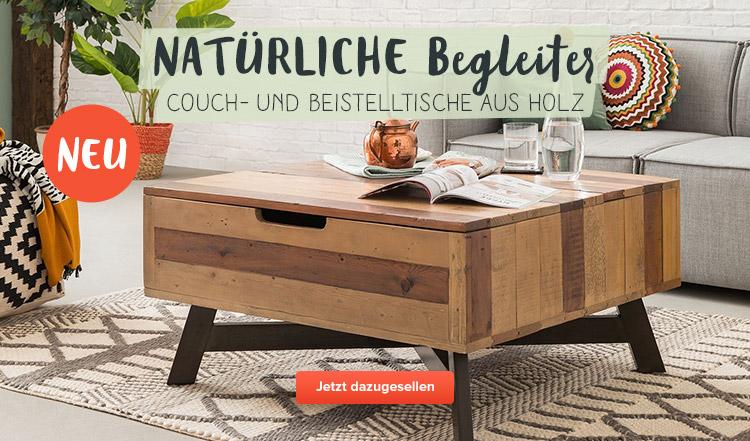 Neue Couch- und Beistelltische