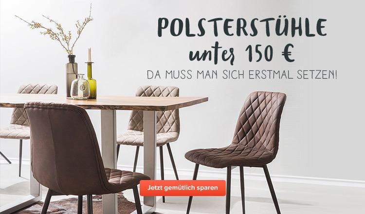 Polsterstühle unter 150€ bei home24