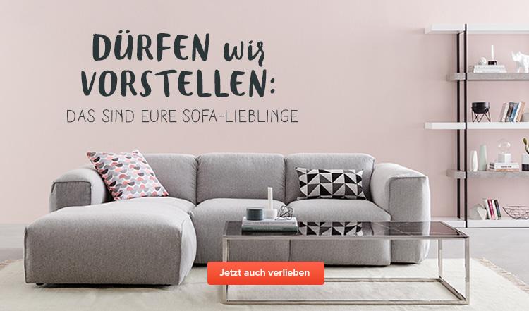 durfen wir vorstellen - Einfache Dekoration Und Mobel Polstermoebel Fuer Das Wohnzimmer